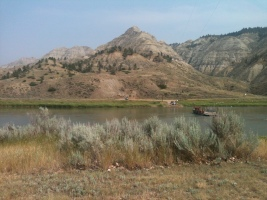 Stratigraphic Paleobiology Field Course. Sponsored by the Paleontological Society. 7-20 July 2014. Tobacco Root Mountains & Missouri Breaks, Montana.